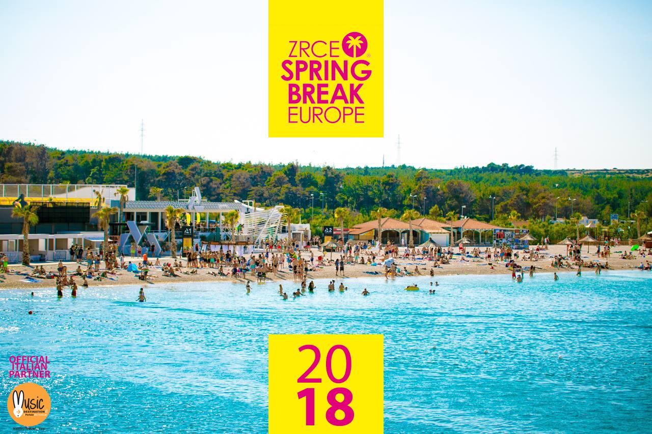Annunciate Le Date Dello Zrce Spring Break 2018 A Pag